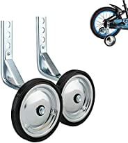 WAYDA Training Wheels, Heavy Duty Kids Bicycle Stabilizers Mounted Kit, Fit fot 14 16 18 inch Bikes - 1 Pair