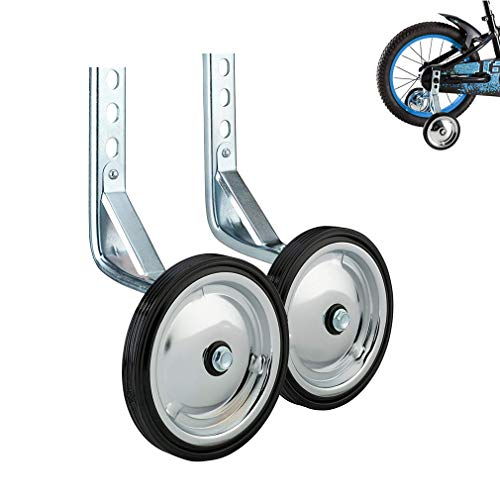 Training Wheels, Heavy Duty Kids Bicycle Stabilizers Mounted Kit, Fit fot 14 16 18 inch Bikes – 1 Pair