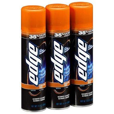 Edge Advanced Sensitive Skin Extra Moisturizing Shave Gel, 3 pk./9.5 oz. - Edge Shave Gel Extra Moisturizing