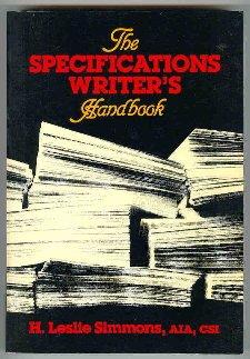 The Specification Writer's Handbook