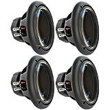 4) PLANET AUDIO AC10D 10 6000W Power Car Audio Subwoofers Power Subs Woofers