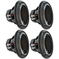4) PLANET AUDIO AC10D 10 6000W Power Car Audio Subwoofers Power Subs Woofers