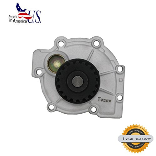 VIOJI 1pc New Aftermarket Metal Impeller Water Pump With Gasket For Volvo C70 S40 S60 S70 S80 V40 V70 XC70 ()