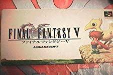 Final Fantasy V (Japanese Language Version) Import Super Famicom