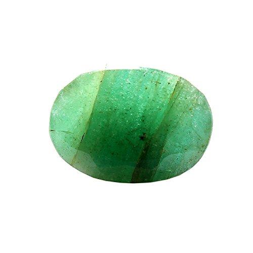 Be You 5cts Vert Couleur Facettes Ovale Forme Naturel Zambien Émeraude