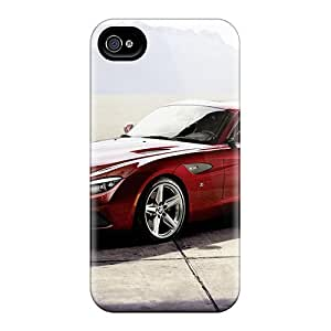 Mbsky Fashion Protective Red Bmw Z4 Zagato Case Cover For Iphone 4/4s