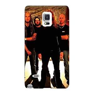 CristinaKlengenberg Samsung Galaxy Note 4 Durable Hard Phone Cover Custom Nice Dark Tranquility Band Series [cfA17177niuy]