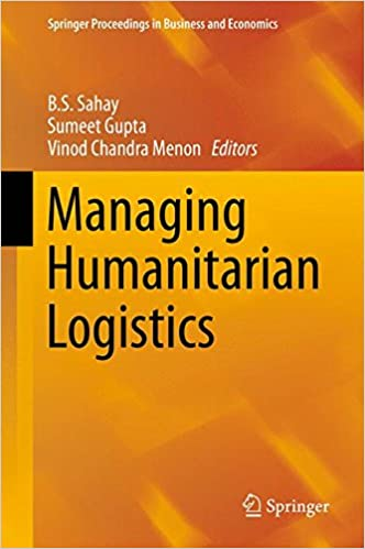 Book Managing Humanitarian Logistics (Springer Proceedings in Business and Economics)