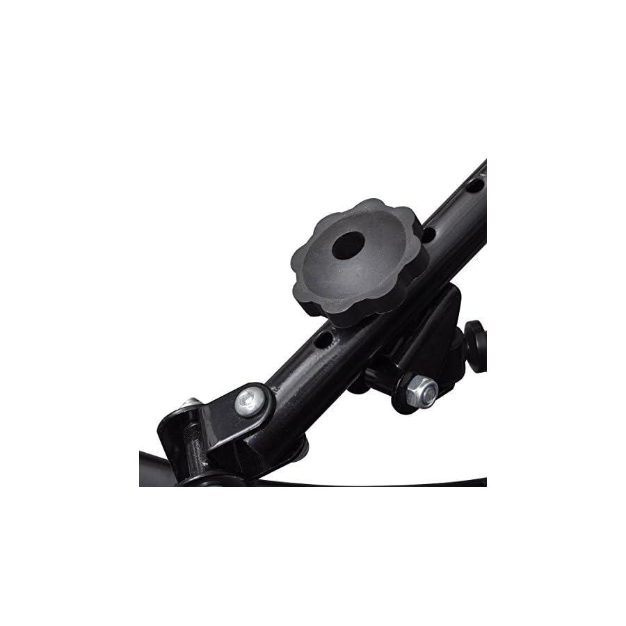 Hydraulic Rowing Machine Cardio Exercise Dual Motion Adjustable LED Display