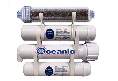 Premier Heavy Duty Portable Aquarium Reef Reverse Osmosis Water Filter System | 150 GPD RODI | Rated for 2500 Gallons | - Tank Aquarium Oceanic