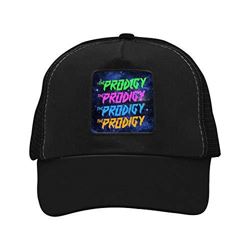 - Men's The Colorful Pro-digy 3D Hat Baseball Cap Adjustable Mesh Ball Cap for Men Women Black
