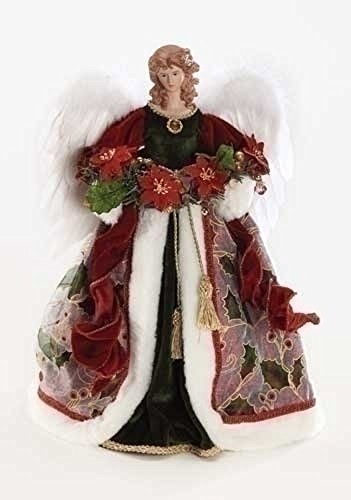 Angel Figures Angel Tree Topper Dressed in an