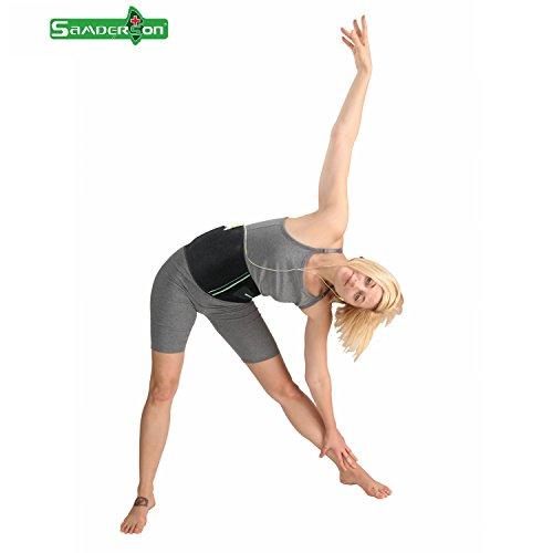 waist trimmer belt slimming fast unisex (Medium) - 6