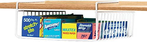 - Under Shelf Wrap Holder