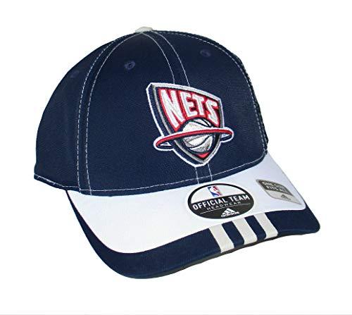(Genuine Merchandise New Jersey Nets Flex Fit Best Fits 7-7 1/4 Hat Cap - Blue)