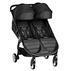 Color:Jet The City Tour 2 Double Stroller makes getting around town with two kids easier than ever! It has an all-new lightweight design that fits through a standard doorway and features an ultra-compact fold. Now compatible with our exclusiv...
