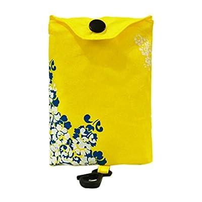 Iusun Foldable Shopping Handbag, Reusable Nylon Eco Tote Bag Grocery Bags Handbags for Home Storage Travel Shopping Camping Gift Bag
