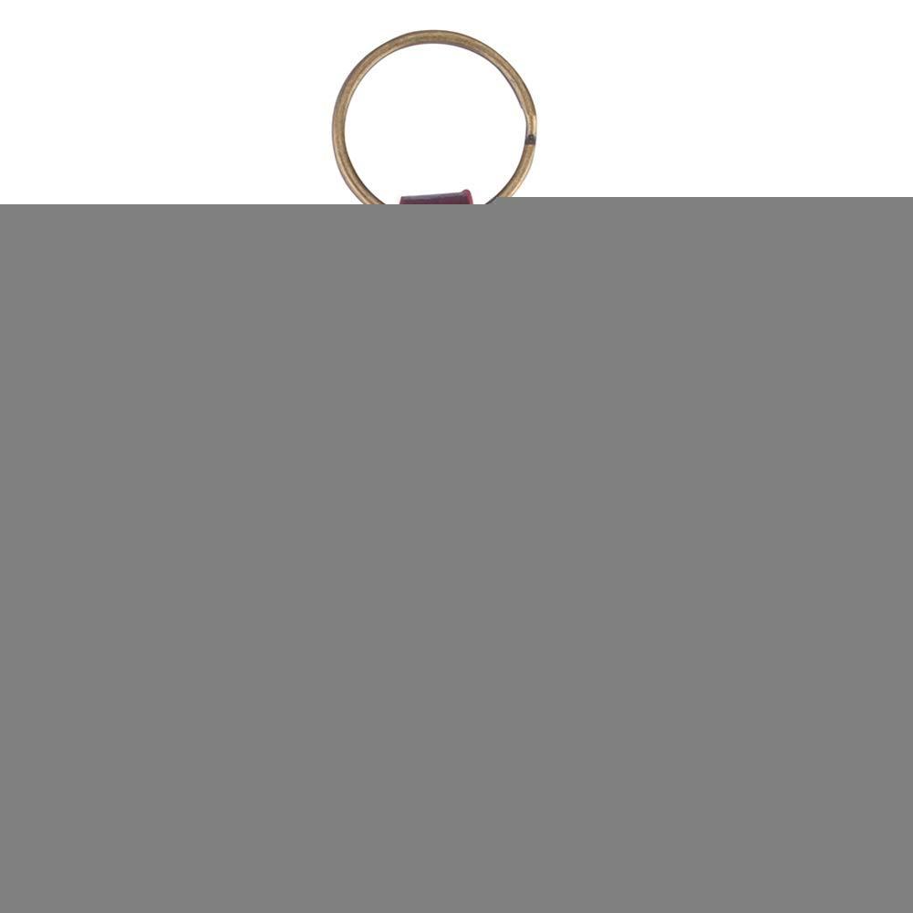 Talla /única Juego de 5 p/úas para Ukelele y bajo kafiGC8 Piel sint/ética Negro