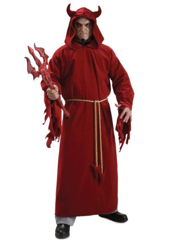 Rubie's Costume Demon Lord, Red, One Size Costume