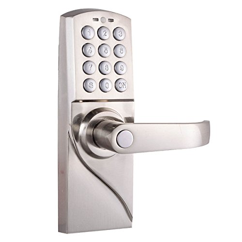 Digital Electronic/Code Keyless Keypad Security Entry Door Lock Right Handle New Unbranded
