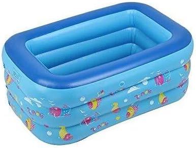 子供のインフレータブルプール折り畳み式携帯バスタブマリンボールプール、屋内と屋外の両方の浮動再生 - 130 * 85 * 55センチメートル