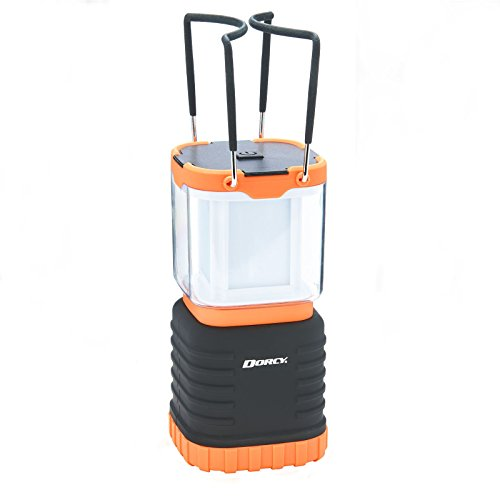 Dorcy 130-Lumen 4-Way Lantern with Rechargeable Power Bank and USB Charging Cable, (41-1058) ()