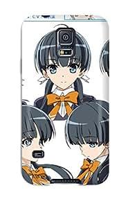 Fowleavis NQnCoMn3448AsFXr Case Cover Skin For Galaxy S5 (ushinawareta Mirai Wo Motomete Episode 2)