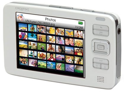Creative Zen Vision 30 GB Multimedia Player