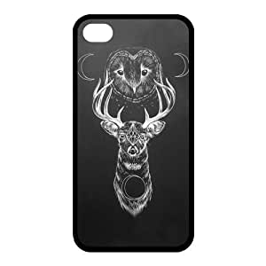 Custom Hipster Owl Back Cover Case for iphone 6 4.7 JN6 4.7-608