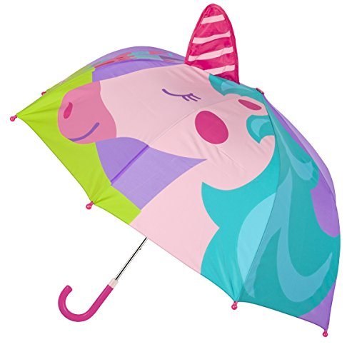 Stephen Joseph Girls' Little Pop Up Umbrella, Unicorn ()