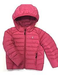 POLO Ralph Lauren Girls Jacket Kids Puffer Down Fill Coat Size 2 2T Pink