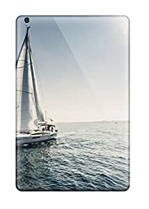 Chris Marions's Shop New Style 5398099J71073364 Durable Defender Case For Ipad Mini 2 Tpu Cover(sailing Boat)