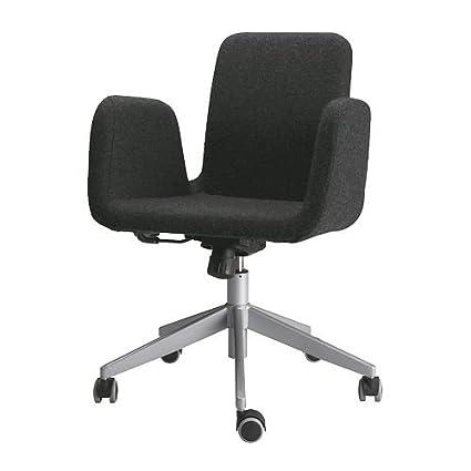 Incredible Ikea Patrik Swivel Chair Dark Grey Ultuna Amazon Co Uk Inzonedesignstudio Interior Chair Design Inzonedesignstudiocom