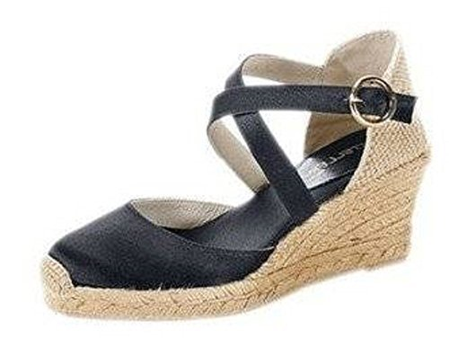 CASTELLER Sandalette - Sandalias de Vestir Mujer negro - negro