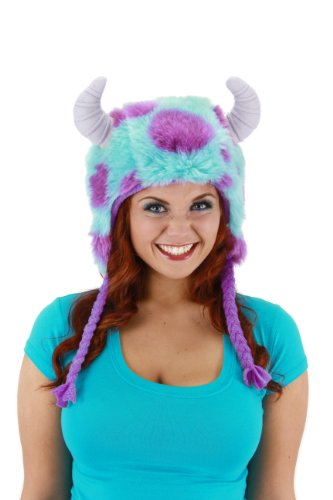Monsters University Kids Deluxe Sulley Costumes (Elope Monster University Sulley Deluxe Hoodie)