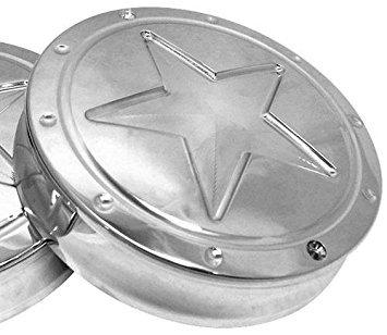Rf Custom Parts Rf Lone Star Engine Badges Chr RF-3597CR by RF Custom Parts
