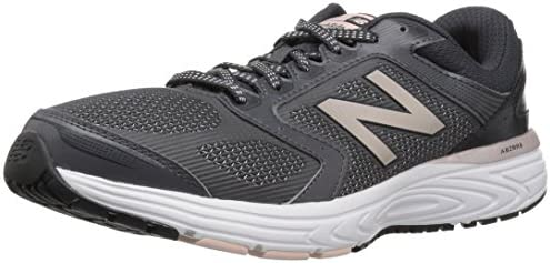 New Balance Women s W560v7 Cushioning Running Shoe, Phantom, 11 B US