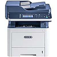 Xerox WorkCentre 3335/DNI Laser Multifunction Printer - Monochrome - Plain Paper Print - Desktop - Copier/Fax/Printer/Scanner - 35 ppm Mono Print - 1200 x 1200 dpi Print - (Certified Refurbished)