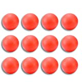 12 Pack Lacrosse Massage Balls (Red)