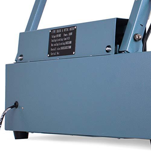 Mophorn FQL-380L L-Bar Sealer 800W L-Bar Shrink Wrap Sealer Cutting Size 20 x 13.8 Inch L-Bar Sealer Machine for Home Commercial Use by Mophorn (Image #6)