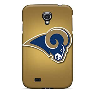 Hot Tpu Cover Case For Galaxy/ S4 Case Cover Skin - St. Louis Rams