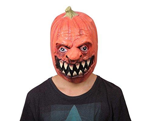 ProEtrade Halloween Costume Cosplay Latex Ghost Scary Pumpkin Werewolf Mask (Pumpkin Devil) (Teen Deluxe Witch Costume)