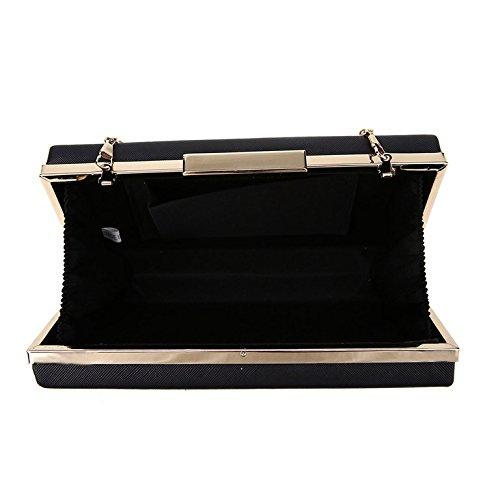 modèle à Black Lily Kukubird embrayage sac White poussière avec Kukubird sac Piano amp; wRaaqCnA