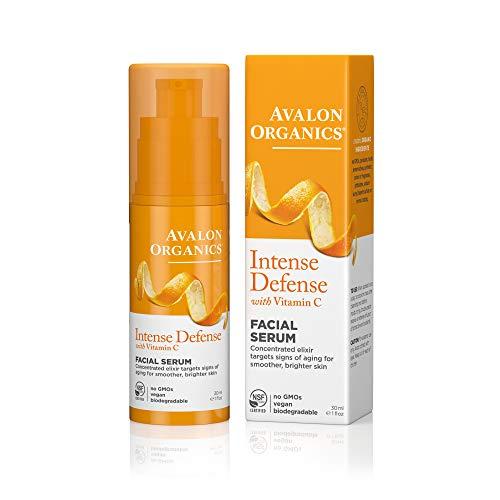 Avalon Organics Intense Defense Facial Serum, 1 oz.