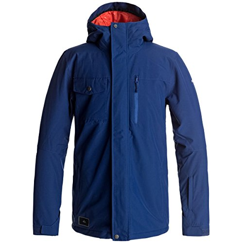 Quiksilver Mens Mission Solid Jacket