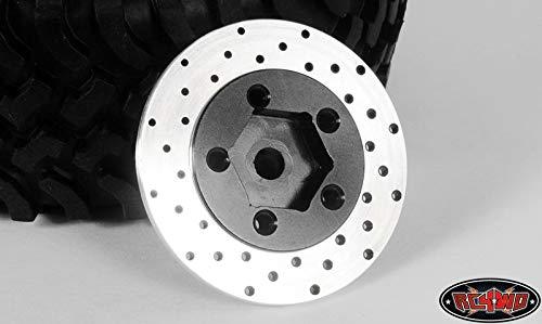 RC 4WD Z-S0532 RC4WD 1.9 5 Lug Steel Wheels Hex Hub w/Brake Rotor