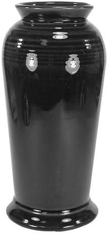 Fiesta Black 566 9-1 2-Inch Monarch Vase