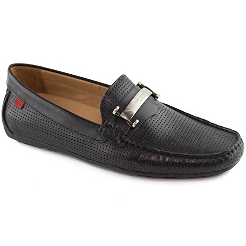 Mens Genuine Leather Made in Brazil Bryant Park Black Perforated MJ Bit Loafer 11 (Best Sneaker Stores In New York)