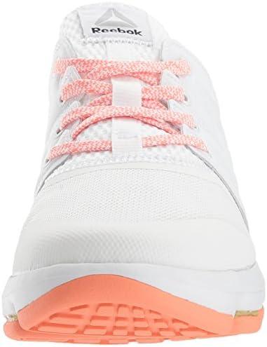 Reebok DMX Sky Cushioned Running Shoes Womens Sz 8 Black Pink Orange