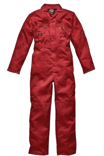 Boilersuit - Dickies Redhawk WD4839 - Size: 42' x 30' regular - Color: red Yarmo